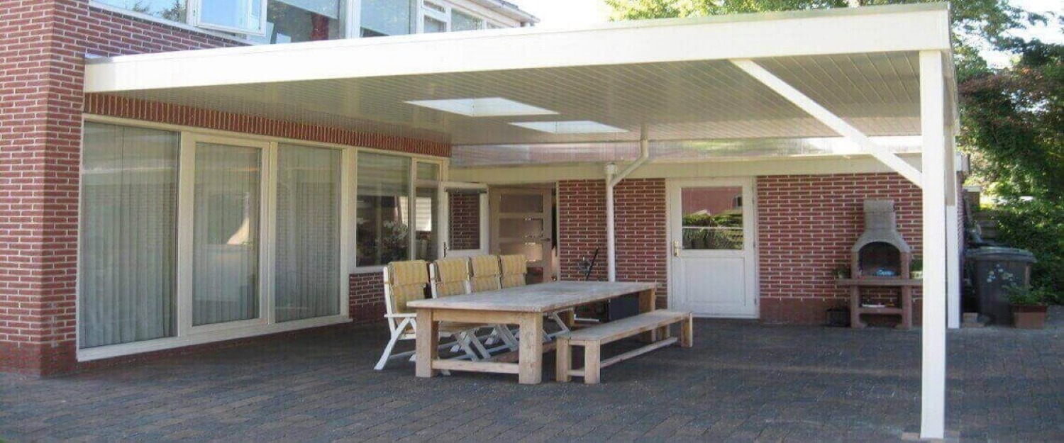 Overkappingen en carports.